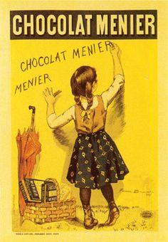 Read more: https://www.luerzersarchive.com/en/magazine/print-detail/5148.html Poster for the chocolate maker Menier. Tags: Firmin Bouisset (Deceased),