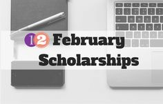*Updated on January 2018 Wow, January really flew by...! Here are 12 scholarships with February deadlines - apply away before the month flies by! 1. Harriet Fitzgerald Scholarship – $10,000 – Apply annually by February 1 The Sunflower Initiative wants to help provide financial support for a young woman seeking to attend a woman's college. Just fill out an application form and submit along with your transcript, SAT report, and letters of recommendation. 2. The Jackie Robinson Foundation…