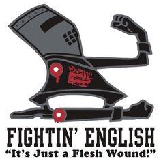 """Fightin' English"" Monty Python"