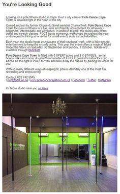 Pole Dance Cape Town #inpoleposition #studiospotlight Pole Dance, Cape Town, South Africa, Studios, Studio, Pole Dancing, Pole Fitness, Pole Moves