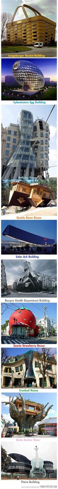 Unique buildings of the world…