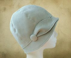 SEWING PATTERN Ilsa 1920s Twenties Cloche by ElsewhenMillinery