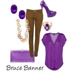 Bruce Banner, created by tardis-wizard on Polyvore