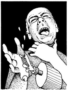 Throat leech, because the DM has had enough of this guy (AD&D Fiend Folio, TSR, 1981)