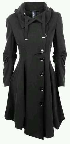 Asymmetrical Trench Coat, please, please, please!!!