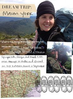 Dream Trip: Hiking the Appalachian Trail ~ Design*Sponge Hiking Trips, Backpacking, Appalachian Trail Georgia, Thru Hiking, Camping Ideas, West Virginia, Beautiful World, Outdoor Activities, Places To See