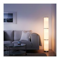 VIDJA Floor lamp IKEA Fabric shade gives a diffused and decorative light.