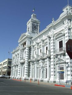 Government offices at Hermosillo,Sonora,Mexico