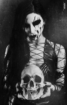 #Black #Metal #Girl