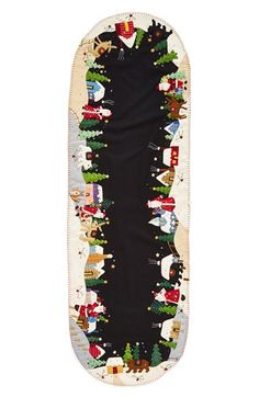 New World Arts Christmas Village Table Runner available at #Nordstrom