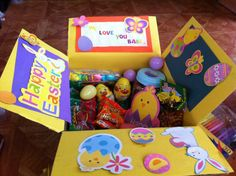 DIY Easter Gift Idea. (Care package)
