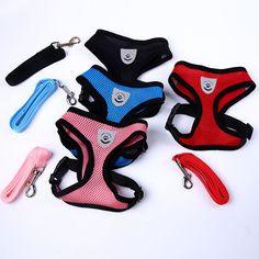 2016 Newly Pet Dog Harness Products For Dogs Fashion Nylon Mesh Leash For Dogs Soft Breathable Pet Harness *** Prover'te etot udivitel'nyy produkt, pereydya po ssylke na izobrazheniye.