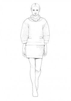 Summer dress sketches 2d
