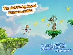 $2.99 -> FREE | Rayman Jungle Run, run & catch with the classic character Rayman, first time for FREE on the store!
