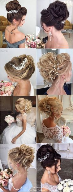 Idée Tendance Coupe & Coiffure Femme 2017/ 2018 : 40 Best Wedding Hairstyles For Long Hair / www.deerpearlflow