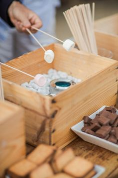 S'mores bar: http://www.stylemepretty.com/collection/3120/