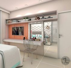Bedroom Wall Designs, Room Design Bedroom, Bedroom Furniture Design, Bedroom Layouts, Home Room Design, Cool Teen Bedrooms, Cool Rooms, Bedroom Setup, Bedroom Decor