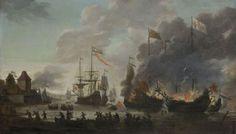 misschien wel de bekendste actie van Michiel de Ruyter. de toch naar Chatham. hier is hij heen geweest om de Engelse vloot in de nacht te verwoesten met ongeveer 30 schepen en 1000 soldaten is het gelukt om de vloot te verwoesten.
