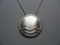 Silver pendant - Jewelry by Mariëtte van Elsdingen