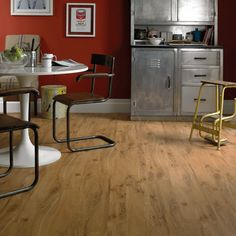Buy Warm Oak Karndean Knight Tile Wood Vinyl Flooring from our Hard Flooring range at John Lewis & Partners. Karndean Knight Tile, Karndean Design Flooring, Luxury Vinyl Tile Flooring, Vinyl Tiles, Wood Vinyl, Wood Parquet, Tile Wood, Wood Flooring, Floors