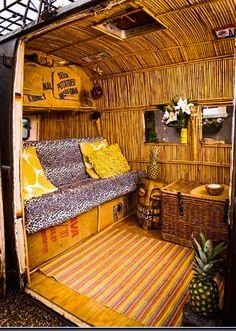 VeeDub Camper 'Tiki' Bus.