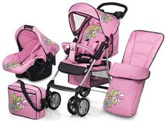Hauck Speed Sun Plus Shop n Drive Travel System and Accessories Pram & Car Seat |