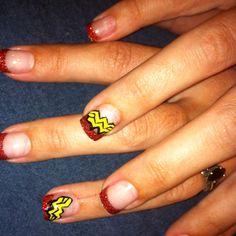 Wonder Women Nails by Heather @ SaVain Salon and Spa
