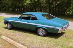 Loved my first brand new car! - 1972 CHEVROLET NOVA RALLY 2 DOOR COUPE   Mine was green with a black stripe.