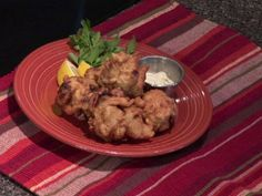 Chef Andrew Omo of Linda Bean's Perfect Maine shares his recipe for Lobster Fritters lobster fritter