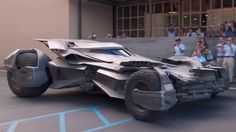 Here's the latest version of the Batmobile. It doesn't look like it will need any dents repaired. #coolcars