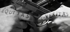 Aequitas:Justice & Veritas:truth Boondock Saints Tattoo