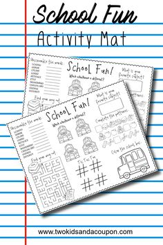 Free Back to School Printable Activities Place Mat Back To School Activities, Classroom Activities, School Fun, Learning Activities, Activities For Kids, School Ideas, School Coloring Pages, Coloring Pages For Kids, Kids Coloring
