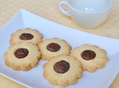 Biscotti di pasta frolla senza glutine alla nutella