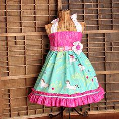 Felicity Ellie Style Halter Dress by SewManyRuffles on Etsy, $50.00