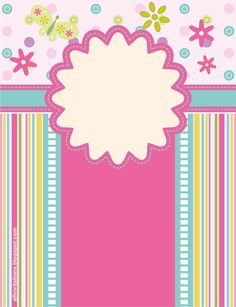 fondo vertical baby shower - Buscar con Google