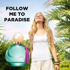 Far Away Aloha Eau de Parfum - With every spritz, Far Away Aloha sweeps you away to a tropical island. This vibrant summer scent evokes the exotic with its refreshing breeze, essence of warm sunshine, lush juicy fruits and Hawaii's iconic Tiare flower. Polynesian Islands, Online Shopping, Avon Sales, Avon Perfume, Summer Scent, Avon Online, Juicy Fruit, Avon Representative, Tropical