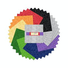 Hancocks of Paducah offers a wide selection of Fabric Square 10 Inch by Wilmington Prints Hancocks Of Paducah, Wilmington Prints, Fabric Squares, Coordinating Fabrics, Quilt Kits, Rainbows, Quilting, Essentials, Crystals
