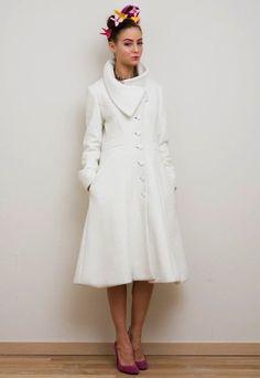 Vaute Couture - Vegan Coat.  I have one in ocean blue and it is the softest coat ever! #vegan #veganfashion
