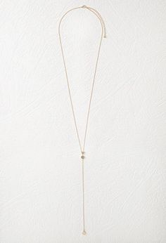 Geo Charm Drop Necklace | FOREVER21 - 1000076820
