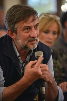 Il nostro Coordinatore (Dott. Taverna) interviene alla tavola rotonda sottoponendo una domanda al Prof. Andreoli