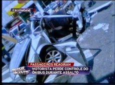Galdino Saquarema Noticia: Motorista perde controle de ônibus durante assalto e mata 3
