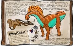 Ark Fan Made Dossier Amargasaurus! by on DeviantArt Ark Evolution, Sibling Rivalry, Megalodon, Monster Hunter, Httyd, In A Heartbeat, Survival, Sketches, Deviantart