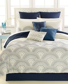 Reese 10-Pc. Comforter Set - Bed in a Bag - Bed & Bath - Macy's