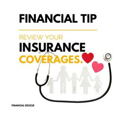 Reviewing your insurance regularly helps ensure your coverage is what you expect it to be in the unfortunate circumstance that you need to file a claim. It also aids in making informed decisions regarding coverage and being proactive about minimizing your insurance costs. Financial Tips, Financial Literacy, Finance, Economics