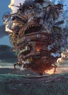 ⏰PT Ghibli Studio Hayao Miyazaki Masterpiece, Wooden Jigsaw Puzzle, Totoro Animation Stills Fine Cut & Fit Boxed Toys Game Art For Adults & Kids ( color : K , Size : ) Art Studio Ghibli, Studio Ghibli Movies, Hayao Miyazaki, Howl's Moving Castle, Howls Moving Castle Wallpaper, Moving House, Film Manga, Film Anime, Anime Art