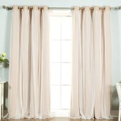 Deconovo Solid Thermal Insulated Window Blackout Curtain For ...