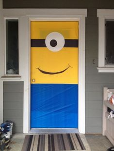 Despicable Me lovers will go bananas over this list of 21 mighty Minion birthday party ideas! From cute treats like Minion pretzels, cookies, cupcakes, and lollipops to clever tips on DIY Minion balloons and a Third Birthday, 4th Birthday Parties, Birthday Fun, Birthday Ideas, Birthday Door, Birthday Celebration, Despicable Me Party, Minion Party Games, Minion Birthday Invitations
