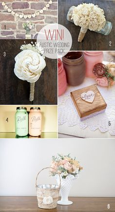Win a Rustic Wedding Prize Pack!   Emmaline Bride® valued at over $250 !!!! Enter now!