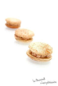 Macarons aux rillettes de saumon