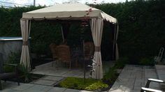 Gazebo, Outdoor Structures, Patio, Outdoor Decor, Design, Home Decor, Internal Courtyard, Landscape Fabric, Exterior Decoration